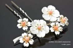 Kanzashi, japanese traditional hair ornament
