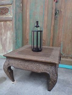 **1** Changing color of my two tables**   Balinese Furniture Wood Low Opium Coffee Table Hand Carved Antique Timor Finish
