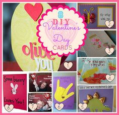 8 DIY super easy, super cute cards you can make with kids.