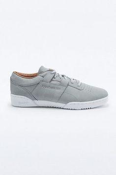 "65344402ef2e24 Reebok – Sneaker ""Workout Clean Premium"" in Grau – Herren 41.5"
