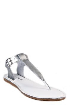 $47.16 Salt-Water Sandals Women'S Thong Sandal - 212 Silver -  http://www.amazon.com/dp/B004TD82OA/?tag=icypnt-20