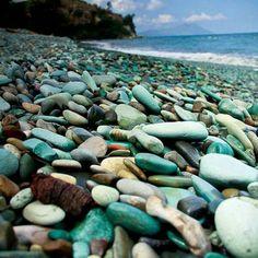 Green Blue Stone, Nangaroro Beach Flores