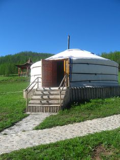 Mongolian ger...