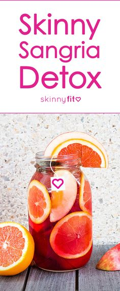 Slim Down with Every Sip of this Metabolism-Boosting Skinny Sangria! Detox Recipes, Tea Recipes, Healthy Recipes, Skinny Fit Tea, Get Healthy, Healthy Eating, Happy Healthy, Skinny Sangria, Detox Tea