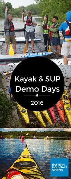Join us for the first EMS Paddle Demo of the season. Learn about and test the latest Kayaks and SUPs, and be sure to check out all demos coming to your area. Standup Paddle Board, Sup Surf, Big Waves, Kayaks, Outdoor Woman, Youre Invited, Paddle Boarding, Water Sports, Ems