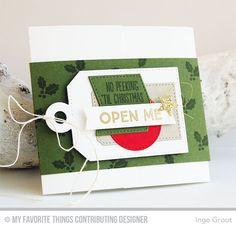 My Favorite Things, MFT, Gift Card, Christmas Card, Gift Card Greetings, Tag Builder Blueprints 4 Die-namics, Gift Card Pocket Horizontal