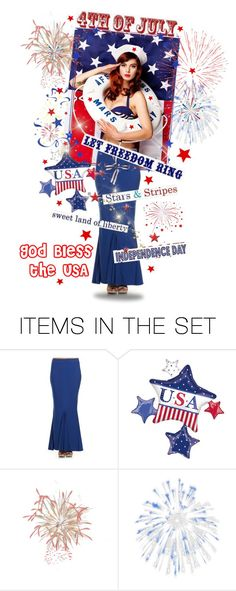 """""""Let Freedom Ring"""" by amwmik ❤ liked on Polyvore featuring art"""