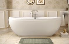 Maax Freestanding Tub - coming soon to an Infinity Home Collection Community near you!! Stay tuned....