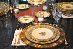 silver vintage silverware chantilly by gorham - Google Search With AUTUMN CHINA BY LENOX & lenox autumn exquisite | place settings pretty tables flowers ...