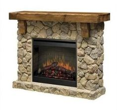 fireplaces pictures   Electric Fireplace by Classic Flame in Faux ...