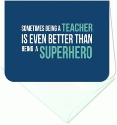 Silhouette Design Store - View Design #87876: sometimes being a teacher a2 card