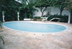 Rede de proteção em piscinas...