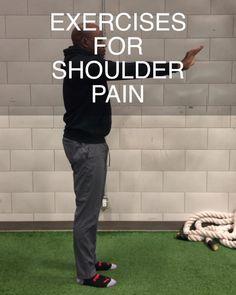 Neck And Shoulder Exercises, Shoulder Injuries, Shoulder Injury Exercises, Fitness Workout For Women, Sport Fitness, Fitness Tips, Shoulder Workout Routine, Back And Shoulder Workout, Rotator Cuff Exercises