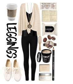 """Letters from the Sky"" by rainbows12302 ❤ liked on Polyvore featuring Wolford, H&M, Moleskine, Philip Kingsley, Givenchy, Leggings and WardrobeStaples"
