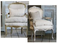 free CL chair project gilt or silver leaf nottooshabby