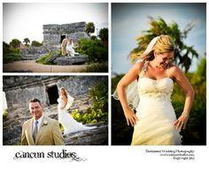 occidental grand xcaret wedding photography