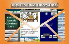 20 useful educational Android apps that you can use to educate yourself or your children.