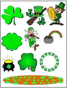 St. Patrick's Day Clipart {FREE}