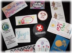 50 SEW ON Custom Printed Clothing Labels - Sewing Tags - Digitally Printed - Unlimited Colors - No Fray - FREE Die Cutting