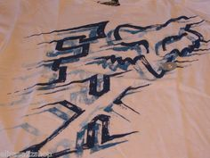 Men's Fox Racing small NEW T shirt white blue motoco motorcross surf skate logo