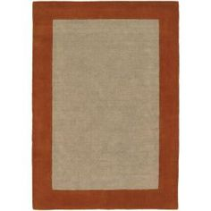 Chandra Hickory Orange/Tan 5 ft. x 7 ft. 6 in. Indoor Area Rug-HIC23503-576 at The Home Depot