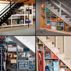 Make the most of your space with these under stair storage options.
