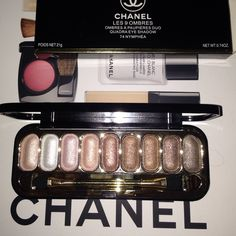 New Chanel set of 9 eyeshadows 74 nymphea brand new never used never tried!!! CHANEL Makeup Eyeshadow