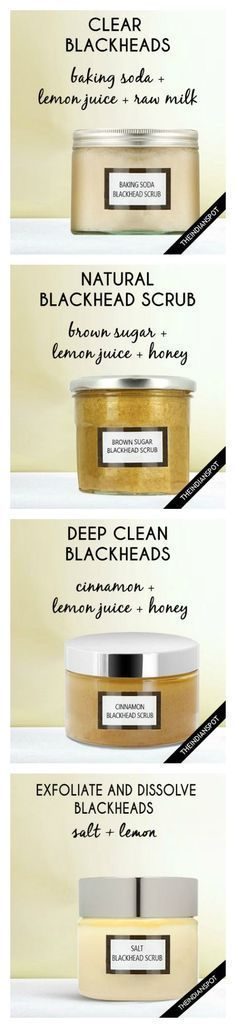 Blackheads be gone!