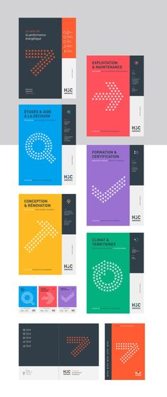 H3C-énergies, visual identity for an independent service and consulting company focused on energy.