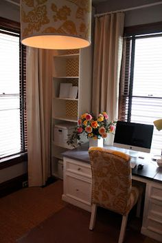 Office Makeover Part 5: Pendant Light