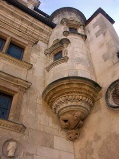 FRENCH RENAISSANCE   Lalemont.Tower.  1495-1506  French  Gothic (Late)     Bourges. Burgundy. France.