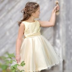 7c8651f00 ... Girl Dresses Available Online. See more. A classic scoop neck dress in  the beautiful shade of lemon chiffon with crafted exquisite work. Sara  Dresses