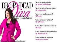 Drop Dead Diva Workout