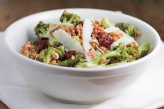 Roasted Broccoli and Wheat Berry Salad