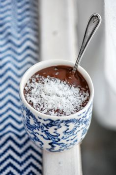 Crème au chocolat et noix de coco | Madame Gateau