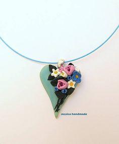 Jessicahandmade / Tyrkysov� srdce II