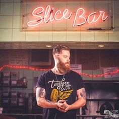 Sam Martin - full thick bushy red beard mustache beards bearded man men mens' style tattoos tattooed ginger redhead #beardsforever