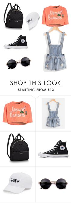 """""""cool outfit for summer p2"""" by farahromdane ❤ liked on Polyvore featuring Converse and SO"""