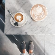 everlane:  The new @bluebottle is a smaller space, perfect for a quick pick-me-up. Rumor has it there's a patio in the works with heated benches, perfect for SF summers.: @andyaudrey in The Everlane Street Shoe (back in stock soon)