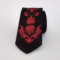 Black Necktie, Black Men's Tie, Black Cravat, Black Tie - SL548 #handmadeatamazon #nazodesign