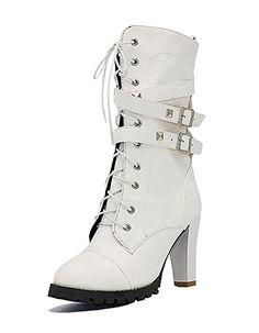 Chaussures Femme Plateforme À Talon Haut Compensé Bout Pointu Bottines Chaussures High Top