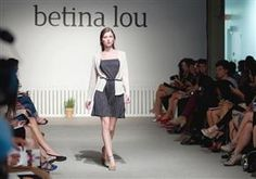 A scene from the runway show by Betina Lou, during Montreal Fashion Week, pictured in Montreal, on Wednesday September 5, 2012.