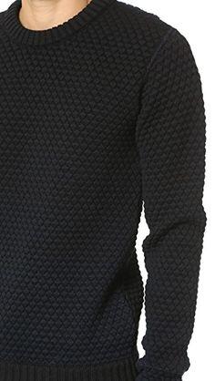 35a57778f33f27 S.N.S. Herning Gradient Crew Neck Sweater Fall 2015, Men Sweater, Crew Neck,  Collar