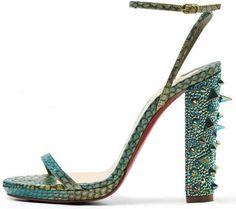 Intricate Imaginative Stilettos : Christian Louboutin Spring 2012