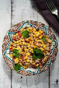Zmysły w kuchni - przepisy kulinarne, podróże, książki: Kukurydza z orzechami po gruzińsku