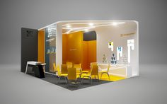 * Colormarket * exhibition stand * by Malets Nazar, via Behance