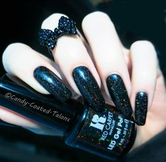 #RedCarpetManicure's diamond dust polish 'An Evening To Remember'