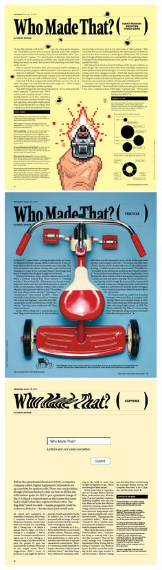 The New York Times Magazine: Design Raul Aguila, Design Director Arem Duplessis