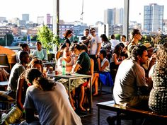 When the temperature rises, things can get a little hot and humid in the city. To help escape the labyrinth, we rounded up the best rooftop bars in Joburg, Pretoria, Cape Town and Durban. Tapas Menu, Movie Co, Cocktail List, Best Rooftop Bars, Sky Bar, Table Mountain, Hot And Humid, Prison Break, Pretoria
