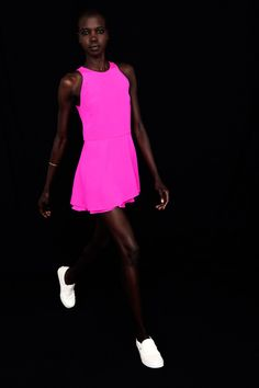 Wayne | Resort 2015 Collection | Style.com || delicious pink!
